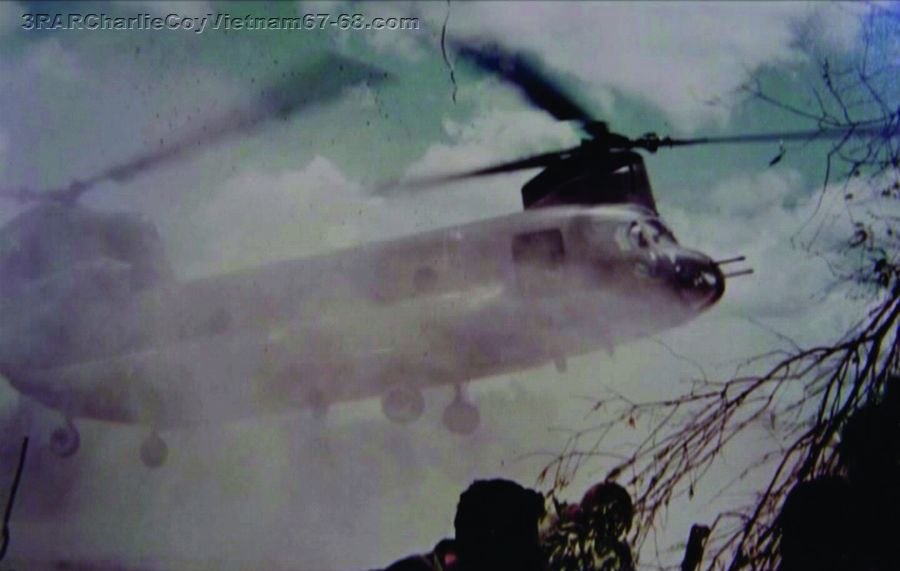 Extraction by Chinook FSB Balmoral