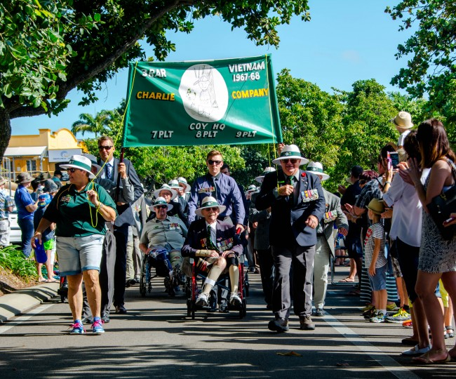 ANZAC March- Banner 2016